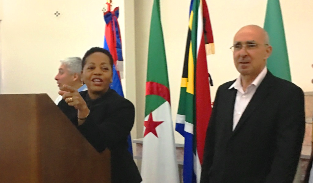 Jamaican Ambassador Heads Home