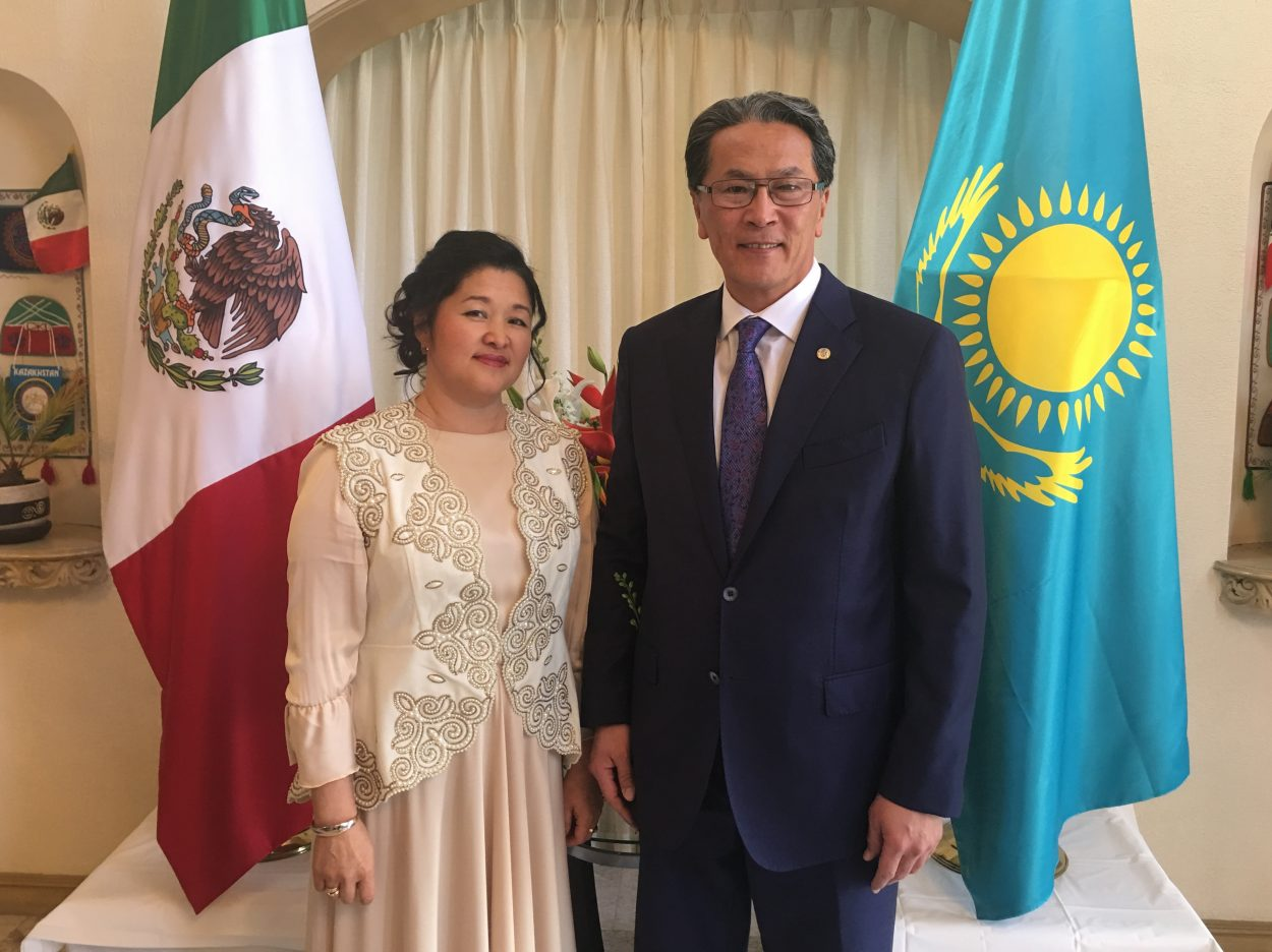 Kazakh Ambassador Lauds Nation's Accomplishments