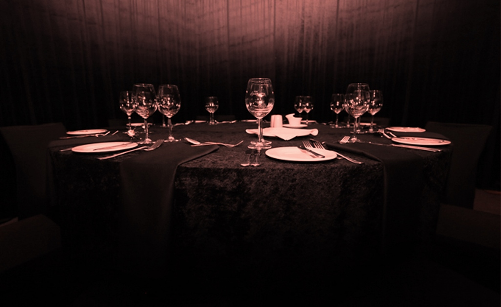 Dining in the Dark, a RealEye-Opener