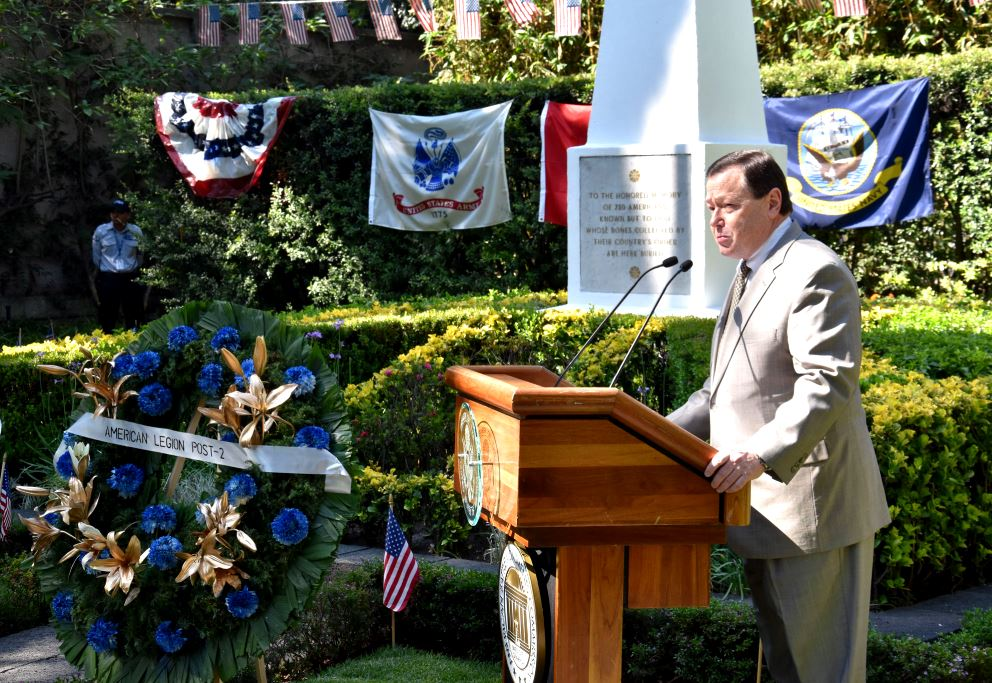 U.S. Embassy, Community Pay Homage to Fallen