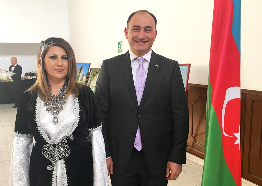 Azerbaijani Envoy Toasts Republic's Founding