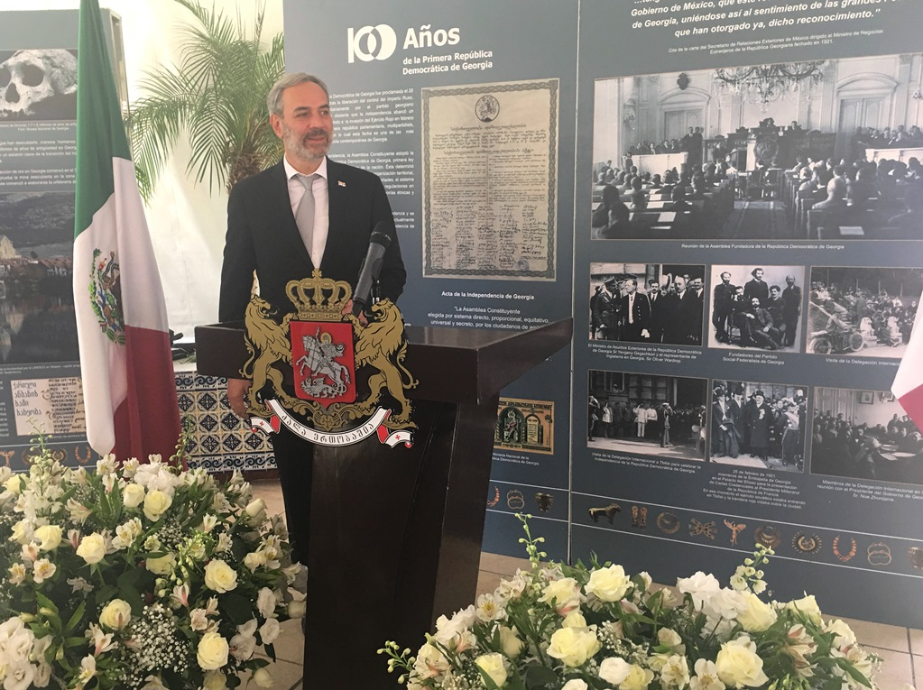 Georgian Ambassador Touts Nation's 100th Anniversary