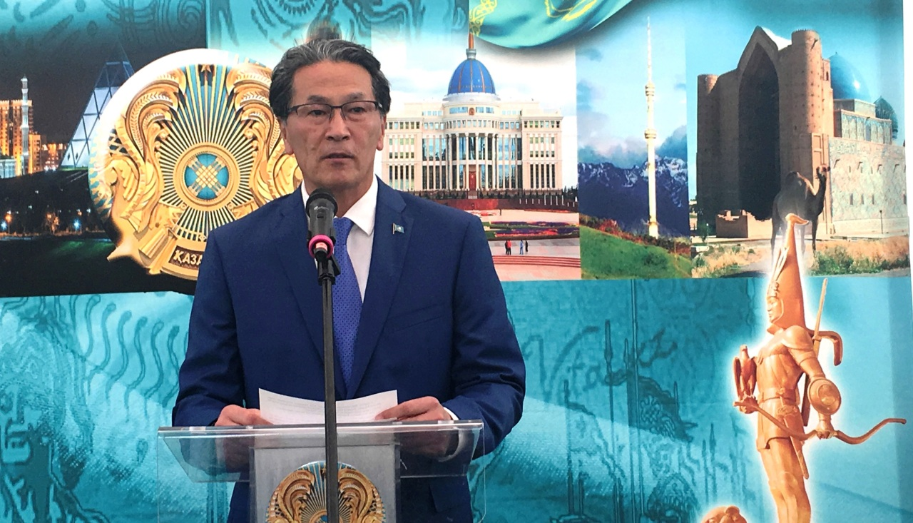 Kazakh Ambassador Toasts His Nation's Capital
