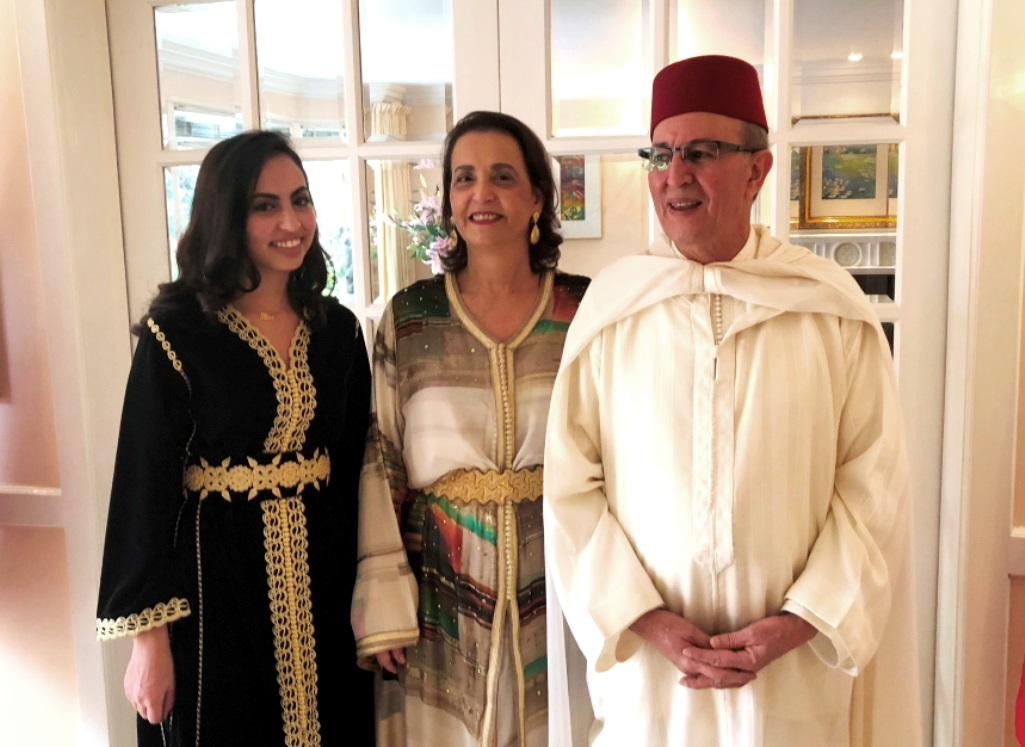 Moroccan Envoy Fêtes Throne Day