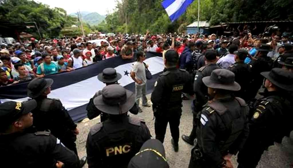 Honduran Exodus Makes Nations Tremble