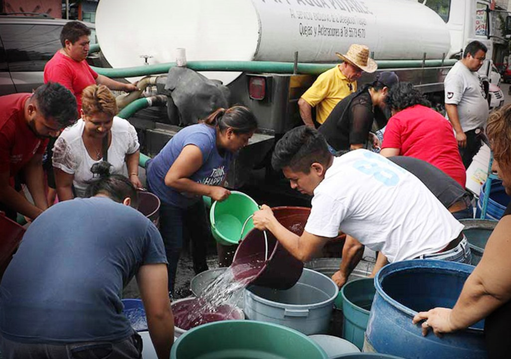 Mexico City Water Shortages Loom for Day of the DeadHoliday