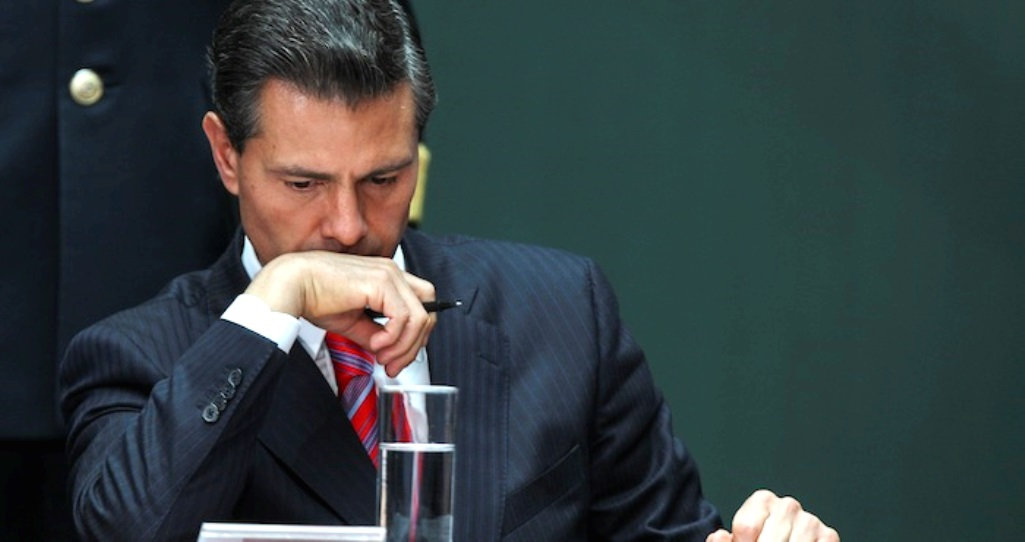 Peña Nieto Keeps Trying to Hide a Massive Trail of Corruption