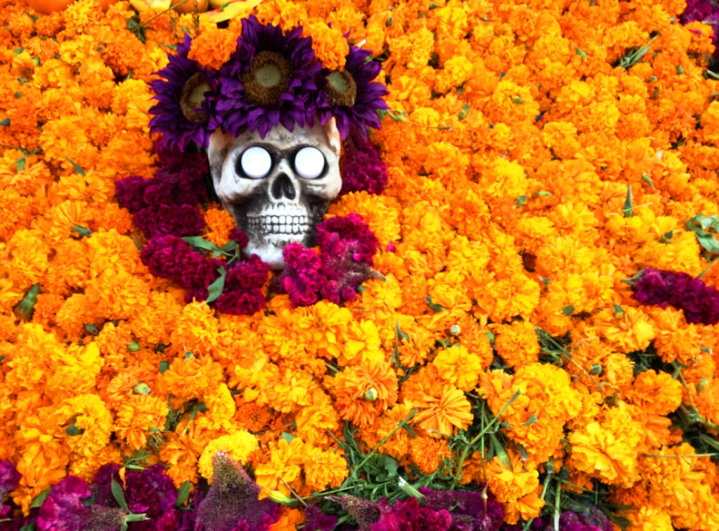 Mexican Marigolds, the Flowers of the Dead