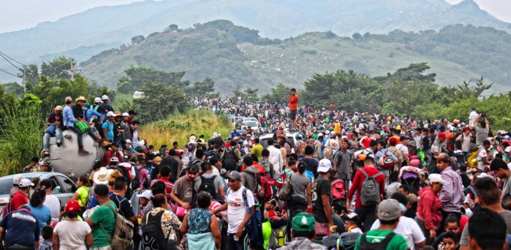 2,000 Central Americans Enter into Mexico