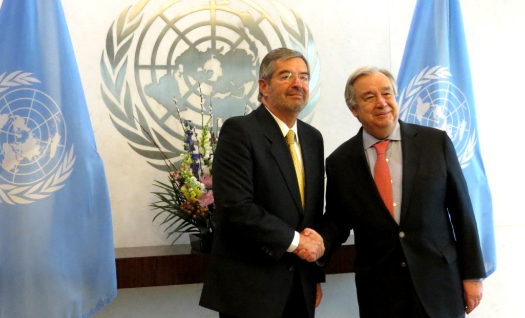 Mexican Envoy to UN Presents Diplomatic Credentials
