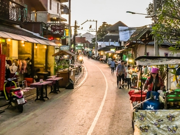 Pai Walking Street. Pulse News Mexico photo/Larry Anthony Pannell