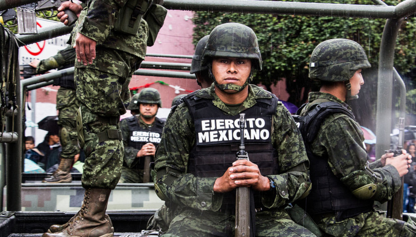 Mexico's National Guard Caught Off Guard