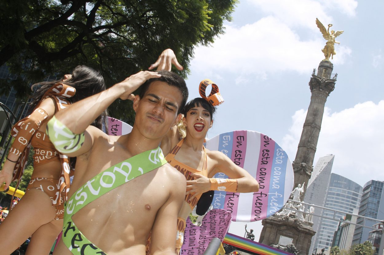 LGBTQ Community Takes Mexico City in LivingColor