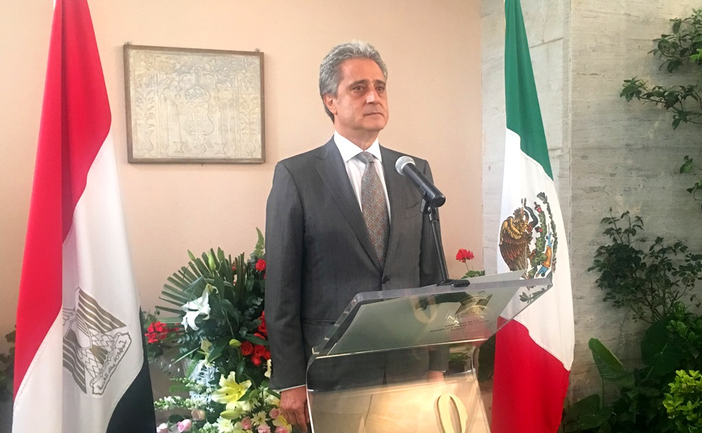 Egyptian Envoy to Mexico Marks Nation's Revolution