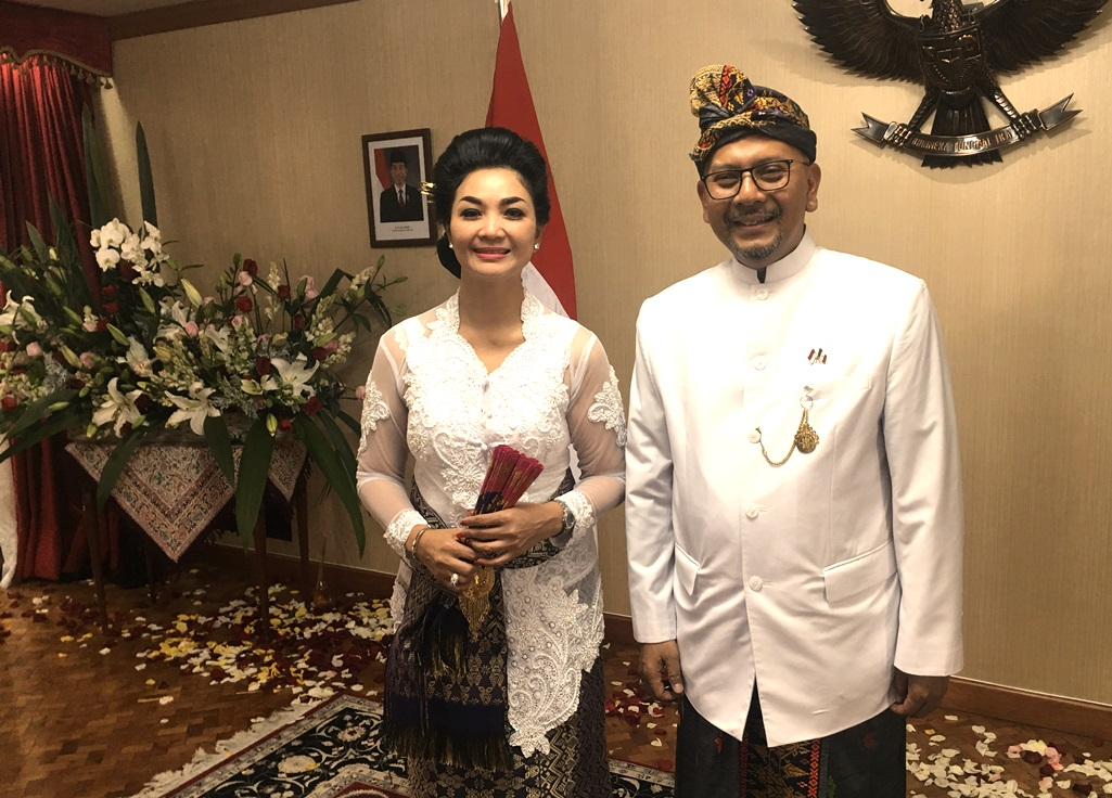 Indonesian Envoy Hosts National Day Fest