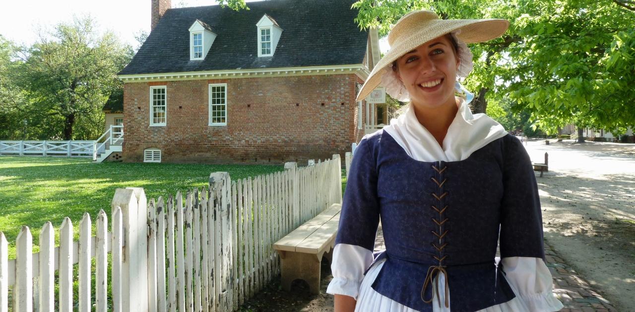 A Walk through Time in ColonialWilliamsburg
