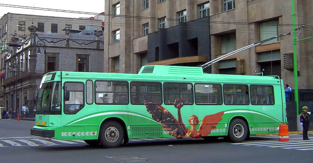 Mexico City Adds Chinese Trolleybuses
