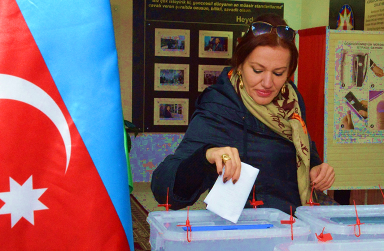 Azerbaijan's Transparent Electoral Process (Hey, Iowa, Take Note)