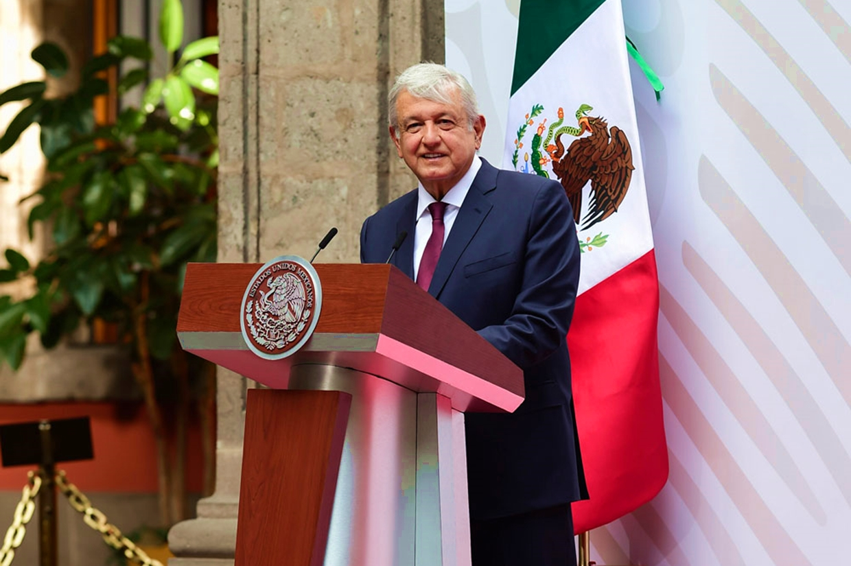 AMLO Delivers Quarterly Report