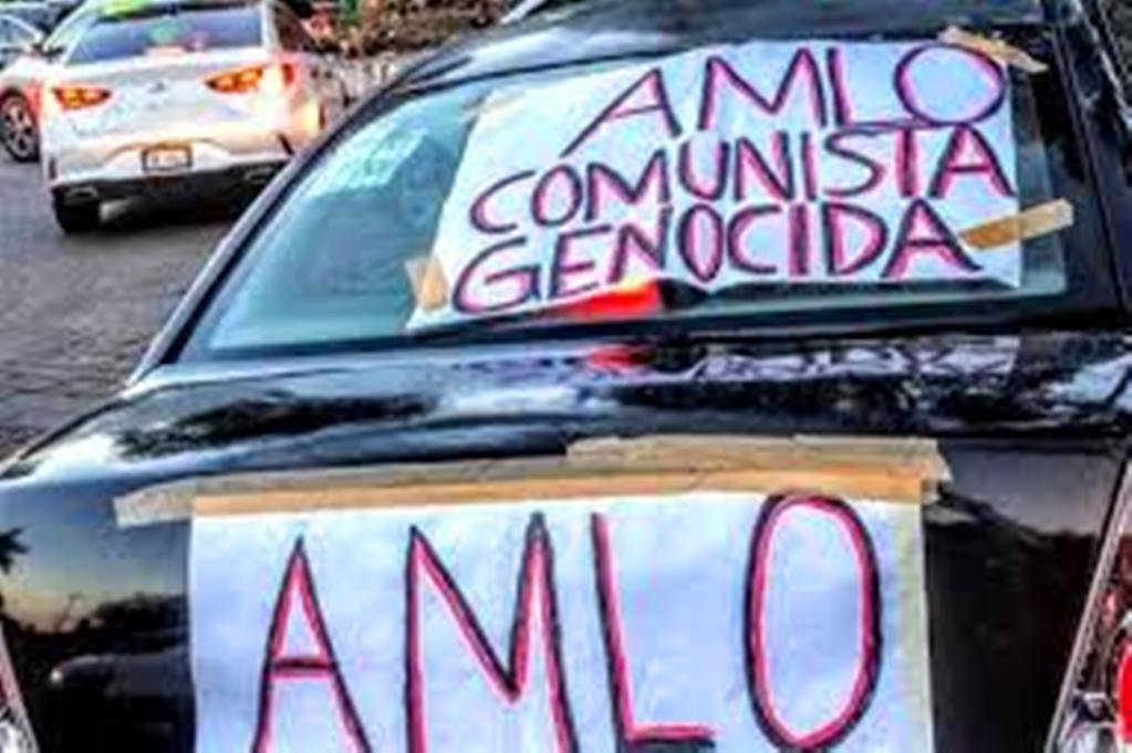 Mexicans Turn Out in Force to Protest AMLO
