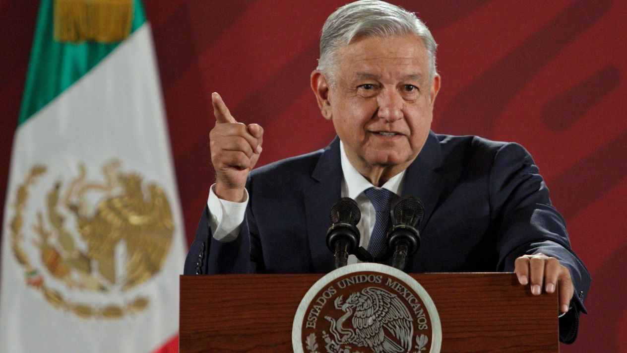 AMLO Denies Taking Orders from US