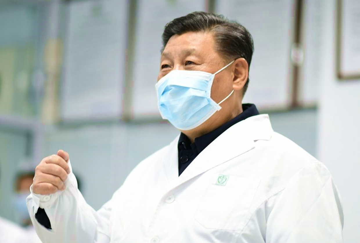 Chinese Leader Vows to Win War Against Coronavirus