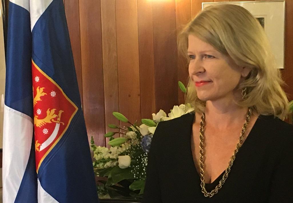 Finnish Envoy Marks NationalDay