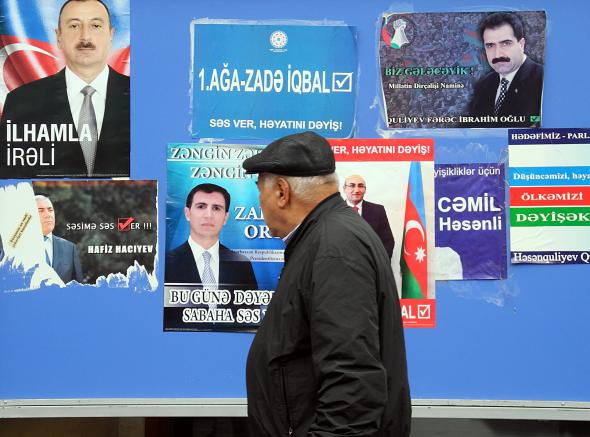 Azebaiyani Voters Turn Out in Record Numbers